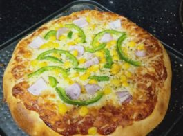 How to make pizza at home without oven in Hindi